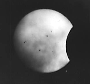 Partial Sun Eclipse  December 15.1982