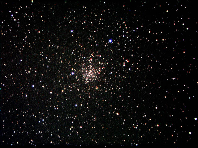 M13 through a telephoto lens 200 mm